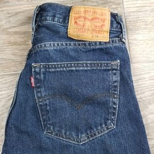 Levi's 527 29x32 boot cut denim jean